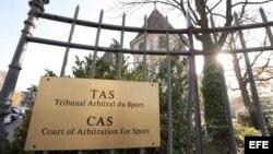 Tribunal de Arbitraje Deportivo (TAS).