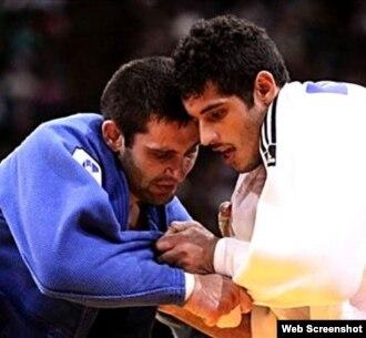 Judocas cubanos juveniles.