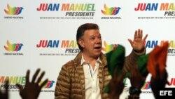 PRESIDENTE Y CANDIDATO JUAN MANUEL SANTOS PRESENTA LA IMAGEN DE SU CAMPAÑA