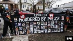Protestas en Chicago por la muerte de tres personas a manos de la policía.