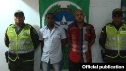 Dos cubanos con documentos falsos fueron detenidos en Baranoa, Colombia.