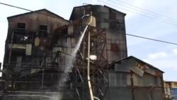 Roturas en la destilería Habana