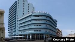Hotel Deauville, en La Habana.
