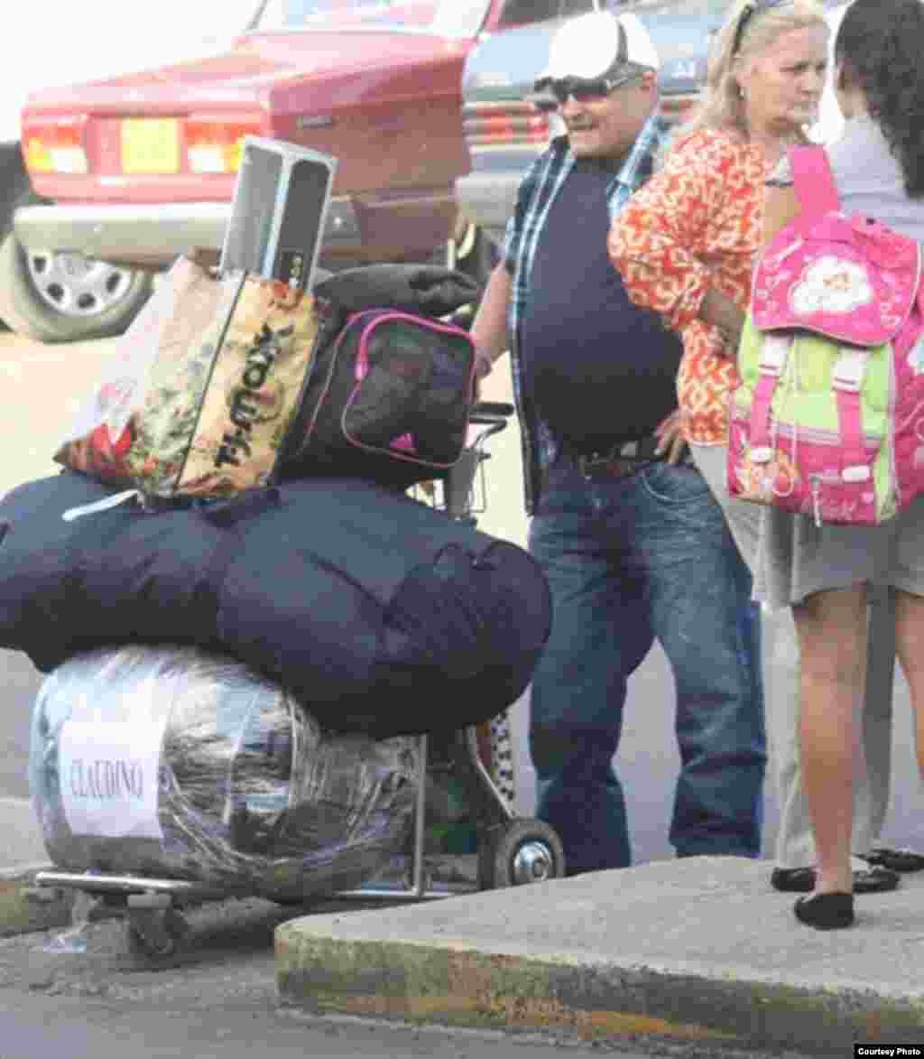 Un turista en La Habana.