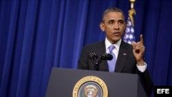 El presidente de Estados Unidos, Barack Obama, este jueves 16 de enero