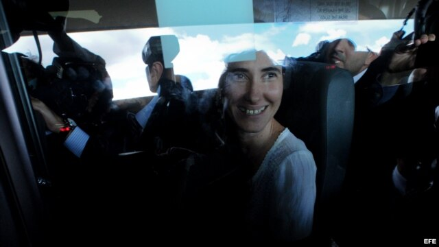 La disidente cubana Yoani Sánchez.
