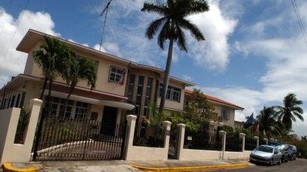 Fachada de la embajada de la República Checa en Cuba.