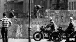 XXV Aniversario de la caída del muro de Berlín.