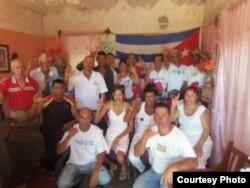 Activistas del Mov. Ciudadano Reflexión y Reconciliación.