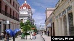 Imagen de archivo del boulevard de Cienfuegos, sede de las actividades