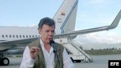 El presidente de Colombia, Juan Manuel Santos. Archivo