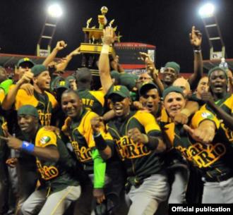 Campeones de la Serie Nacional, el equipo de Pinar del Río.