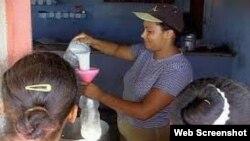 ¿Un vaso de leche en Cuba?, No, gracias.
