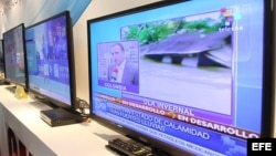 Desde junio, pruebas de TV digital china en La Habana.