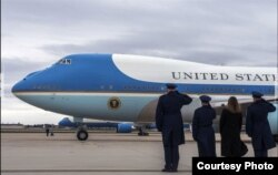 La Base Andrews es el hogar del aviónm presidencial Air Force One