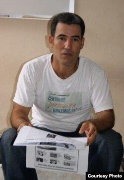 Calixto Martínez, único periodista encarcelado en las Américas en 2012