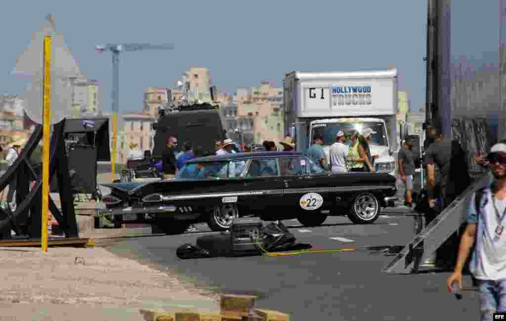 Los atacos en La Habana comienzan con el rodaje de Fast & Furious.
