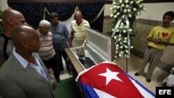 Los funerales del exboxeador cubano Teófilo Stevenson