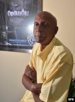 El expreso político y opositor cubano Guillermo Fariñas.