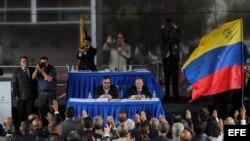El Parlamento venezolano nombró la pasada semana a 33 nuevos magistrados del Tribunal Supremo.