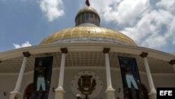 Palacio Legislativo en Caracas (Venezuela).