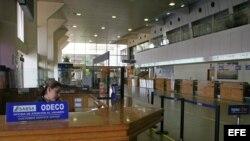 Vista del aeropuerto de Viru Viru en Santa Cruz, Bolivia.