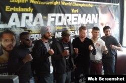 La cartelera de boxeo será transmitida por Spike TV.