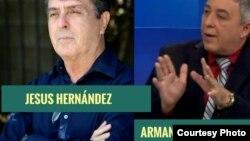 Entrevista con los escritores y periodistas cubanos Jesús Hernández y Armando de Armas