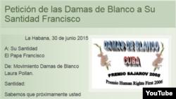 Reporta Cuba Carta Damas