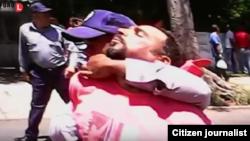 Reporta Cuba. Represión y violencia en La Habana, domingo 16 de agosto.