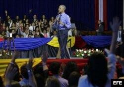 """""""No asuman lo peor, esperen hasta que la (nueva) administración esté trabajando y pueda decidir"""", dijo Obama."""