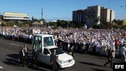 Benedicto XVI en la Plaza José Martí