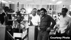 Ernesto Guevara como ministro de industria de Cuba