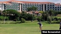 Cuba desarrolla campos de golf y complejos inmobiliarios