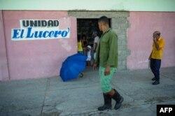 Una bodega en San Luis, Santiago de Cuba.