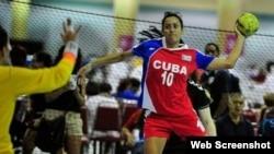 Balonmano femenino. Foto archivo.