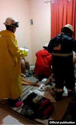 En Cancún, 21 cubanos se hallaban hacinados en una aparente casa de seguridad de traficantes de personas.