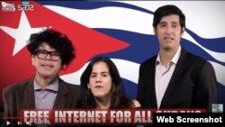 Libre acceso a la Internet para todos los cubanos.