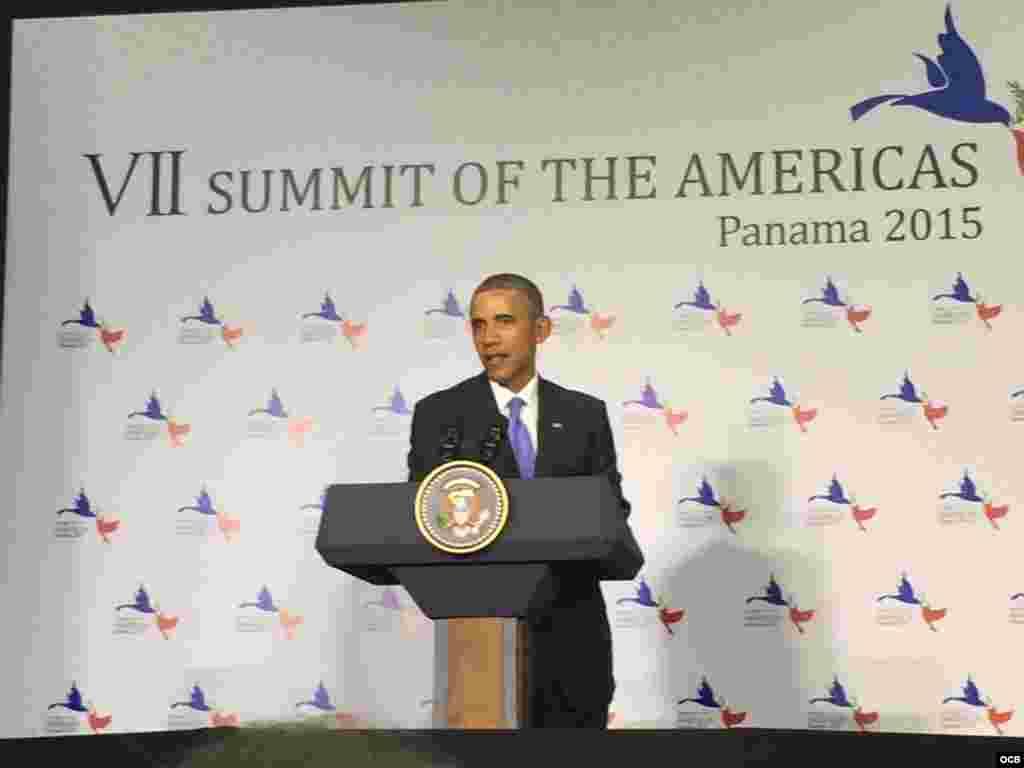 Cumbre de las Américas, Panamá 2015.