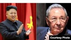 Naciones renegadas: Kim y Castro.
