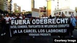 Protestas en América Latina por caso de Odebrecht
