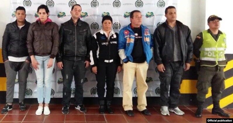 Los seis cubanos que entraron ilegalmente a Colombia y que fueron devueltos a Ecuador.