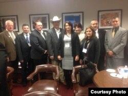 Delegación de empresarios cubanos en Texas