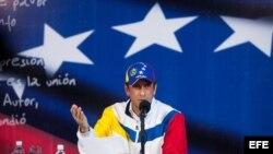 El líder de la oposición venezolana, el excandidato presidencial Henrique Capriles.