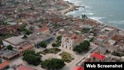 Vista aérea de Gibara