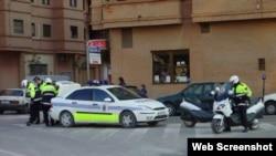 Policía local de Mislata, Valencia.