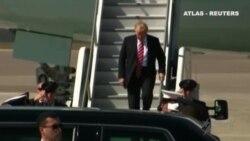 Trump visita la sede de la lucha contra el terrorismo del Ejército de EEUU