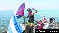 Balseros cubanos en Honduras