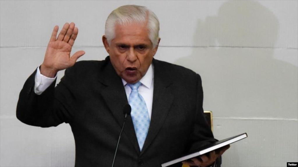 Omar Barboza, nuevo presidente del Parlamento venezolano.