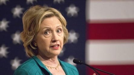Clinton en FIU, en Miami.